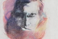 Katherina-Mair-einer-mit-dem-anderen-2020-pastel-chalk-on-linen-40x30cm-1b